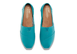 womens boots peacocks peacock blue canvas s classics toms