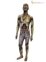 morphsuit monster kids boys robot zombie halloween fancy dress