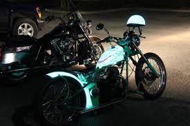 light up motorcycle paint td customs lumilor lab