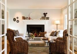 living room paint color ideas with dark brown furniture home