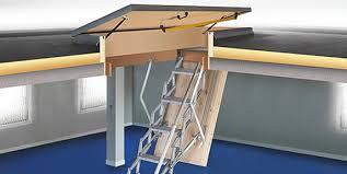 leitern fã r treppen dachausstiege und dachluken für sichere dachzugang