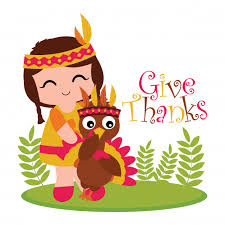 vector illustration with indian and turkey on