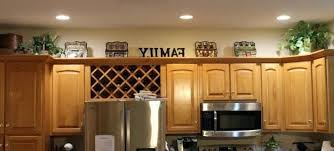 top of kitchen cabinet greenery lovely greenery above kitchen cabinets kitchen design