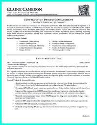 Superintendent Construction Resume Construction Superintendent Resume Examples And Samples Example