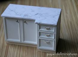 miniature dollhouse kitchen furniture 80 best tutorials miniature kitchen countertops cupboards