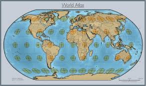 What Is A Map Projection Robinson Projection Map Giscollective The Future Mapping Company
