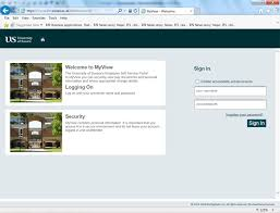 Derby University Login Myview User Guide New Hr And Payroll System Human Resources