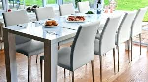 Large Dining Room Tables For 12 Extendable Dining Table To Seat