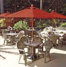 Outdoor Plastic Chairs 47 Best Commercial Outdoor Furniture Interiorsherpa