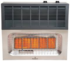 wall mount garage heater 25 000 btu infrared vent free heater thermablaster