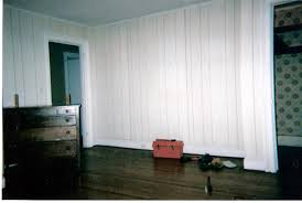 Faux Wood Wallpaper by Goodbye Faux White Washed Faux Wood Paneling Interior