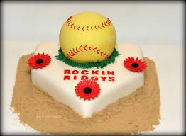 softball cake softball pinterest cake softball birthday