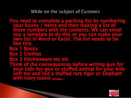 packing list form how to complete a c3 customs form when moving your shipment to europe u2026