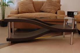 hand made custom living room coffee table by concrete jungle