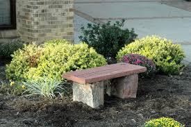 garden memorial benches