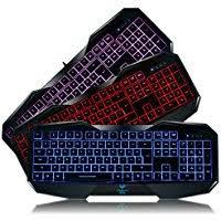 Light Up Wireless Keyboard Amazon Co Uk Backlit Keyboards Keyboards Mice U0026 Input