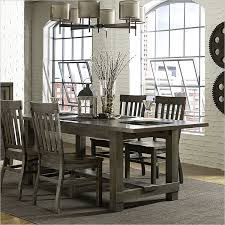 Acacia Wood Dining Room Furniture Yes The Table The Chairs Make For Much Gray Overall