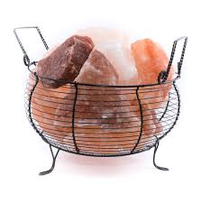 himalayan salt in stock certified himalayan salt crystals lamp footed