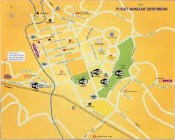 Driving Map Seremban Map