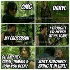 Walking Dead Meme Daryl - the walking dead memes daryl dixon carol peletier joe the