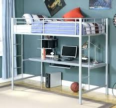Bunk Bed Desk Underneath Loft Bed With Desk Underneath Bunk Bed With Desk Image Of