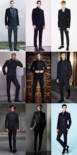 men u0027s all black fashionbeans