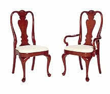 queen anne dining room furniture cherry queen anne chairs furniture made in usa queen anne cherry