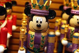 make festive mickey mouse nutcrackers part of your
