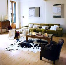 Modern Stripe Rug by Bathroom Living Room With Cowhide Rug Living Room With Cowhide