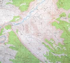 Topographic Map Of Utah by Clinging Hopelessly To The Maps Castle Valley Utah Canyon