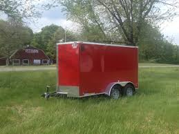Red Barn Trailers Cargomate Ehw 6x12 Tandem Axle Trailer Customize It Ehw612ta2