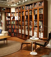 elegant classic small home library design with nice fireplace and
