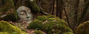 buddha faces kwan yin encaustic studio bridges