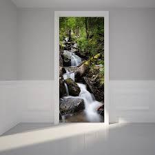 Bathroom Door Stickers 9 Best Murals And Decals Images On Pinterest Door Murals Door