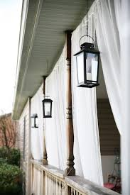 Mosquito Curtains For Porch Front Porch Mosquito Netting Curtains And Lanterns Backyard