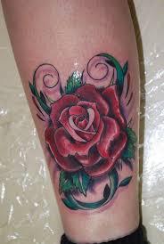 25 best colored rose tattoos for men images on pinterest flower