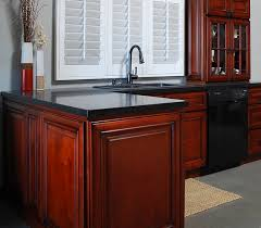 Canadian Kitchen Cabinets Canadian Maple Merlot Rta Cabinets For Kitchen U0026 Bathroom