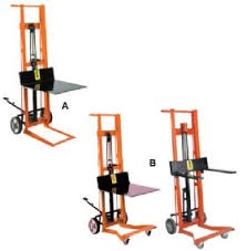 pallet stacker lifts u0026 manual forklifts nationwide industrial