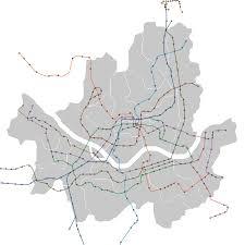 Seoul Subway Map by Seoul Metro Wikipedia