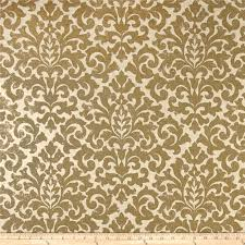 Waverly Upholstery Fabric Sales Sale Gold Damask Fabric Upholstery Fabric Metallic Drapery