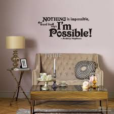 nothing is impossible vinyl wall lettering stickers quotes and nothing is impossible vinyl wall lettering stickers quotes and sayings home art decor decal vinyl wall stickers quote wall decals room decor wall stickers