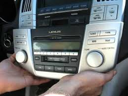 lexus rx 350 sound system how to remove navigation display radio cd changer from lexus