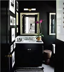 black bathroom design ideas black bathroom black walls black cabinets powder room