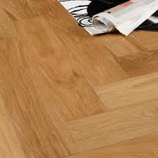 colours everetti herringbone natural oak real wood top layer