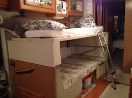 Rv Bunk Bed Ladder How And Exciting Rv Bunk Beds In Small Bedroom Atzine