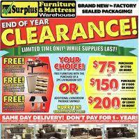 surplus furniture flyer charlottetown pe redflagdeals com