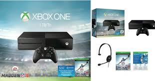 xbox one consoles video games target target xbox one 1tb ea sports madden nfl 16 bundle only 244 98