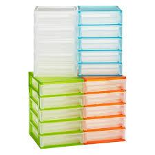 5 shelf desk organizer 5 drawer desktop organizer the container store