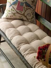 Piano Bench Pad Tufted Bench Cushion Cotton Corduroy
