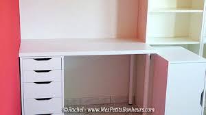 fabriquer bureau caisson bureau enfant awesome bureau en avec caisson tiroirs with
